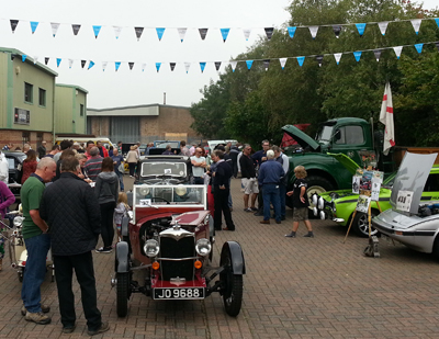 Open Day and Classic Car Display, 6 September 2014