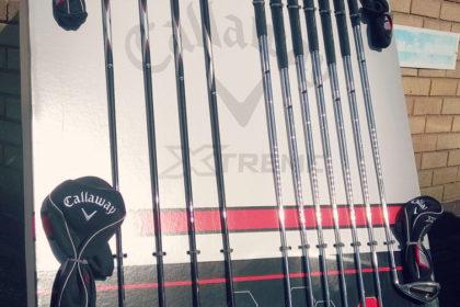 Golf clubs raffle prize