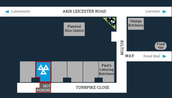 Lutterworth MOT Centre, 5 Turnpike Close, Lutterworth, LE17 4YB