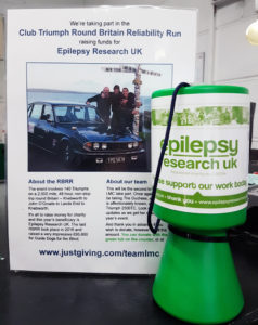 Collection for Epilepsy Research UK